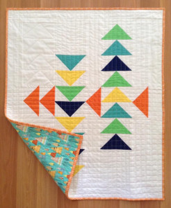 mai flying geese quilt