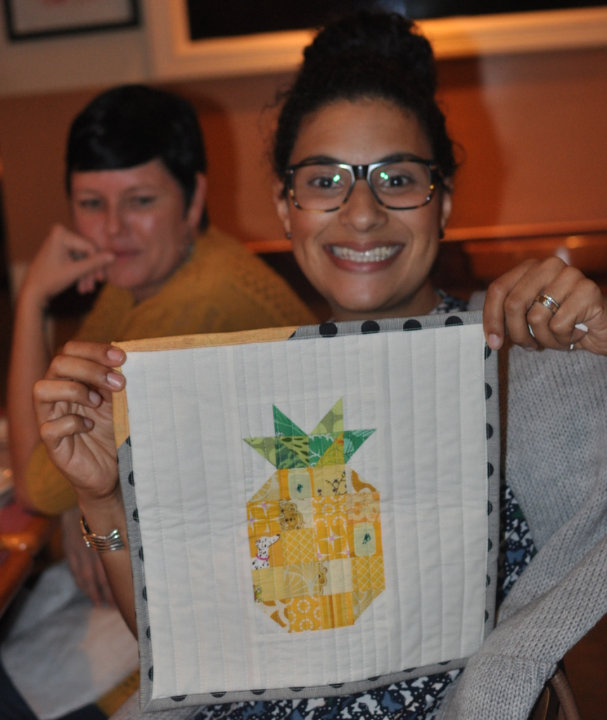 Sarah's pineapple quilt