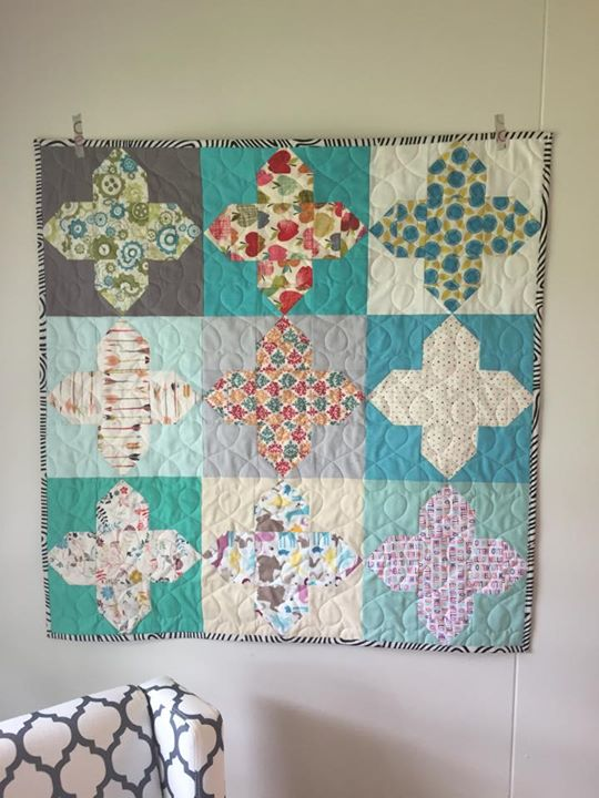 OMQG Operation Homefront baby quilt