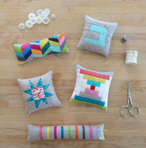 Crazy Mom Quilts pincushion